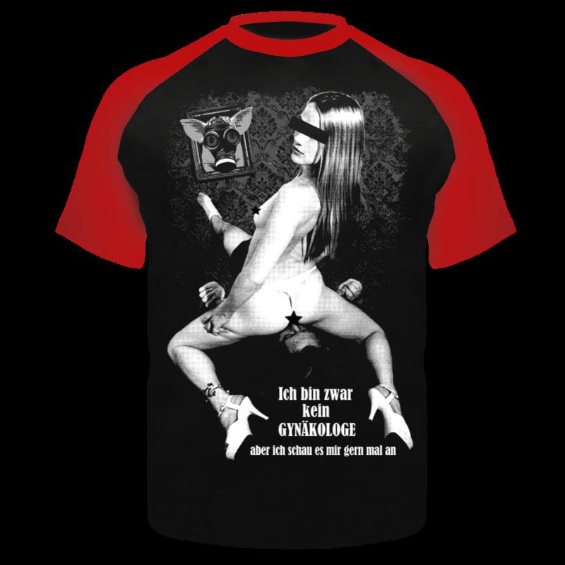 t-shirt ich bin zwar kein gynäkologe.. spruch sprüche fun spass