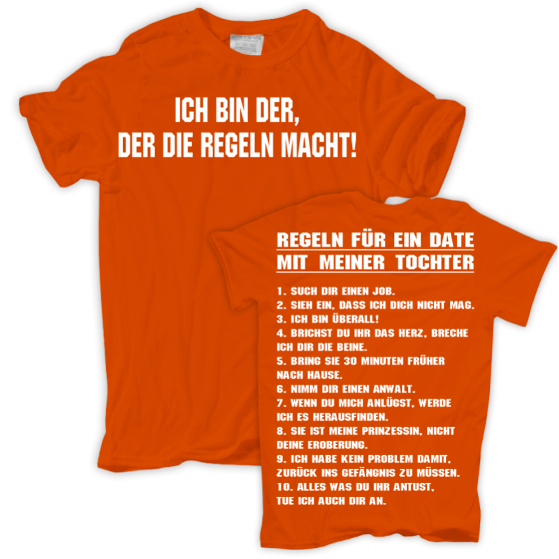details about t shirt ein date mit meiner tochter m nner herren vater. Black Bedroom Furniture Sets. Home Design Ideas