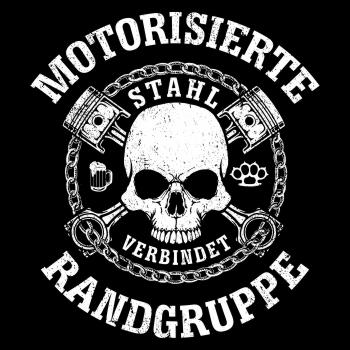 LONG BEANIE Mütze United we stand Hardcore Schädel Totenkopf Label Marke hate