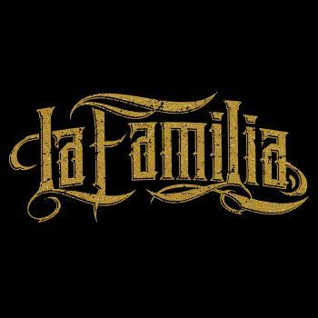 La Familia No Fight No Glory GOLD