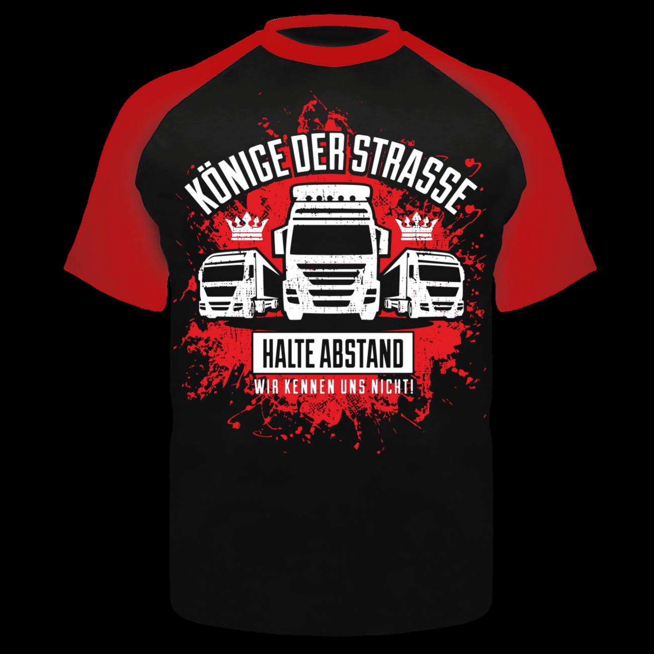 t-shirt könige der straße lkw kraftfahrer fernfahrer trucker beruf