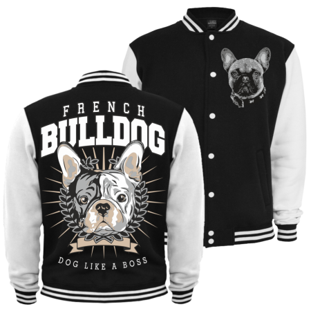 Kinder Baseballjacke French Bulldog BOSS