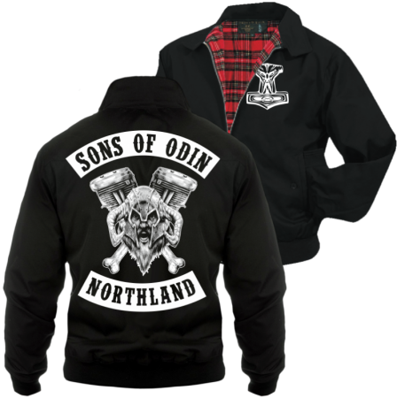 Harrington Jacke Sons of Odin