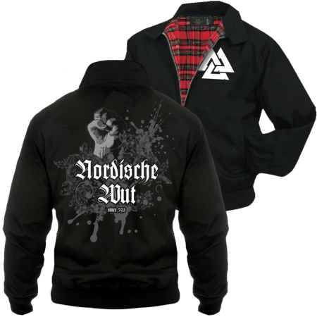 Harrington Jacke Nordische Wut