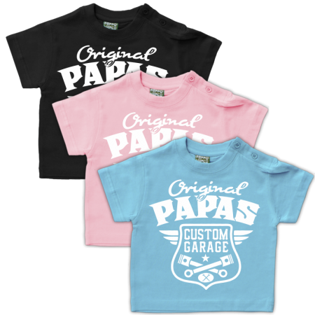 Baby Shirt Original Papas Garage