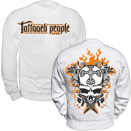 Pullover Tattooed people do it better