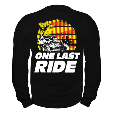 Pullover ONE LAST RIDE