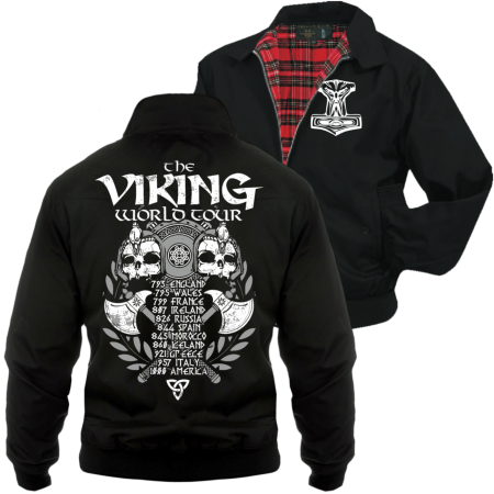 Harrington Jacke Viking World Tour