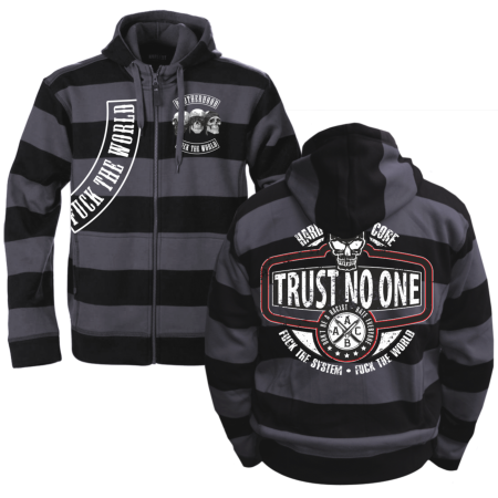 Prescott Kapujacke TRUST NO ONE - Vertraue niemand
