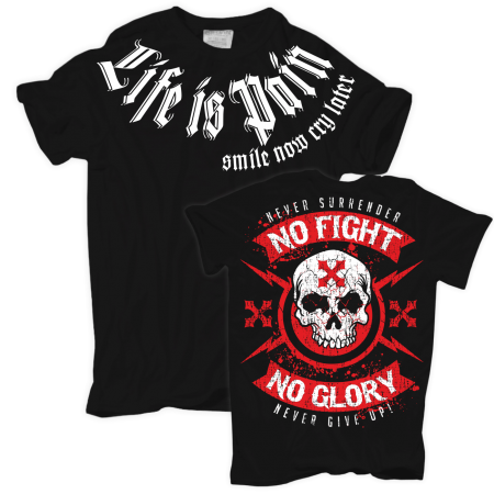 No Fight No Glory PREMIUM