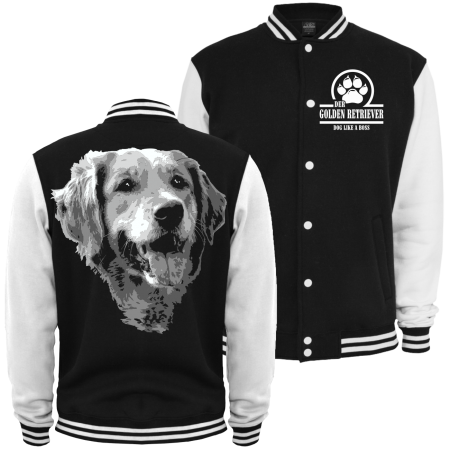 Baseballjacke Golden Retriever BOSS