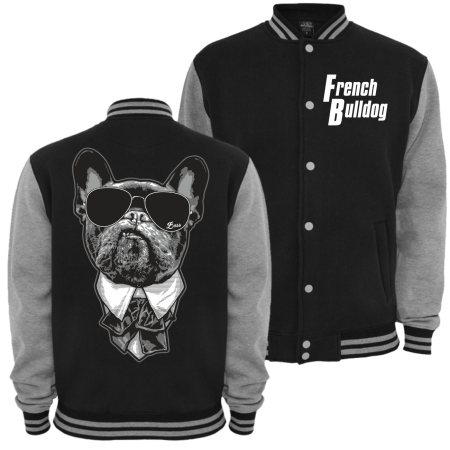 Baseballjacke French Bulldog CHEF