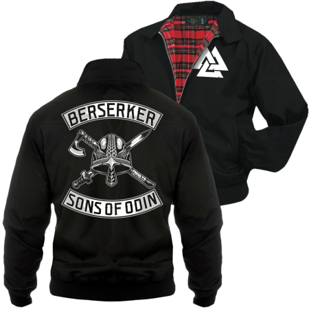 Harrington Jacke Berserker - Sons of Odin