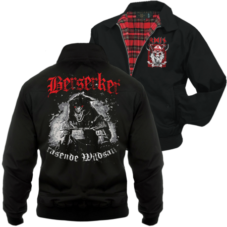 Harrington Jacke Berserker rasende Wildsau