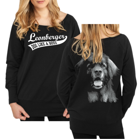 Mädels Sweatshirt Leonberger BOSS