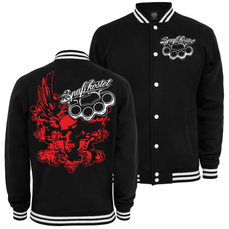 Baseballjacke Spass kostet Death Head