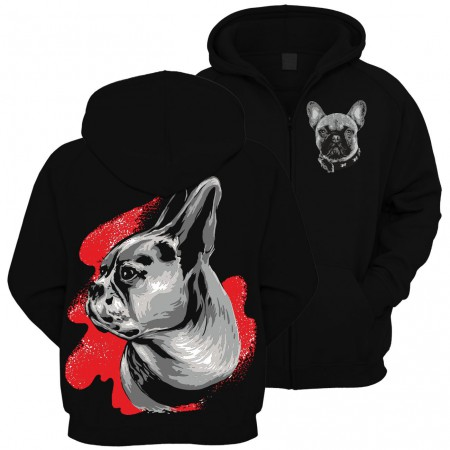 Kinderjacke French Bulldog Painting