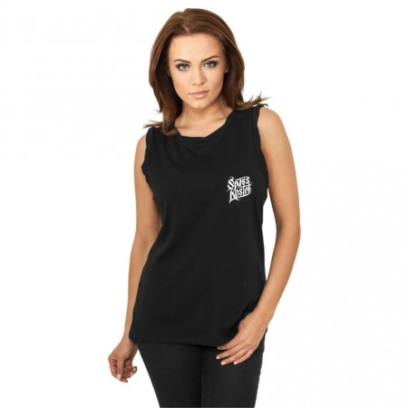 Frauen Spass kostet Sleeveless Pocket Tee