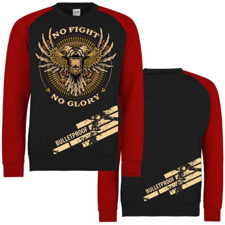 Pullover No Fight No Glory Kugelsicher