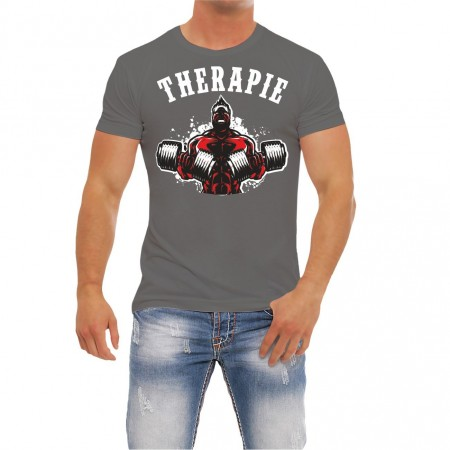 Fitness T-Shirt Selbsttherapie