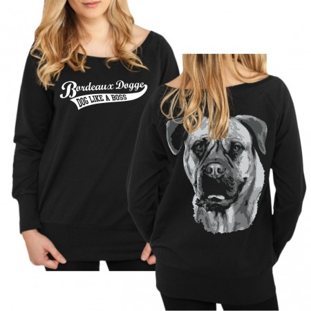 Mädels Sweatshirt Bordeaux Dogge BOSS