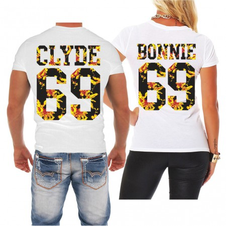 Partnershirt Bonnie & Clyde Summer