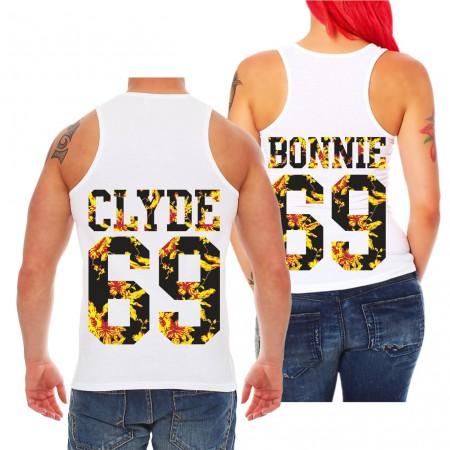 Partner Trägershirt Bonnie & Clyde Summer